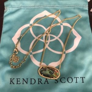 Kendra Scott Dylan necklace.